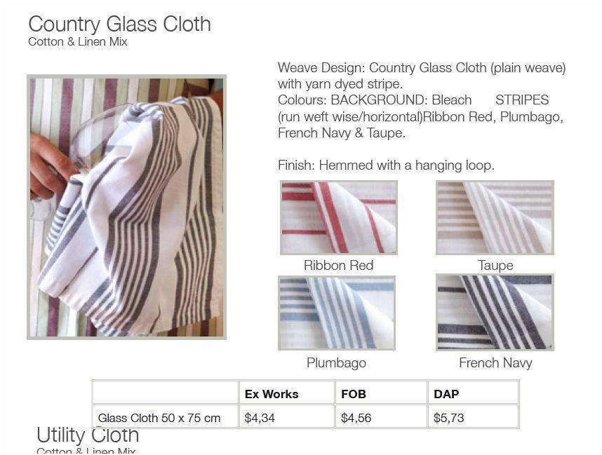 Mungo Kitchen Cloth Country Cloth Plum