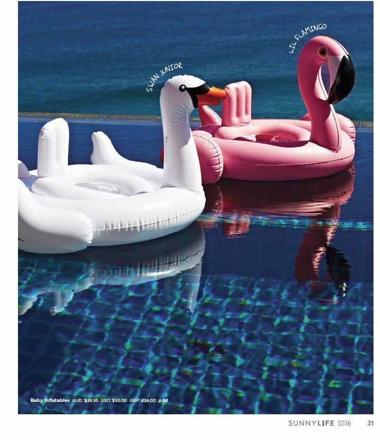Sunnylife Luxe Float Swan