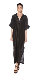 Lido Malibu Caftan Black One Size