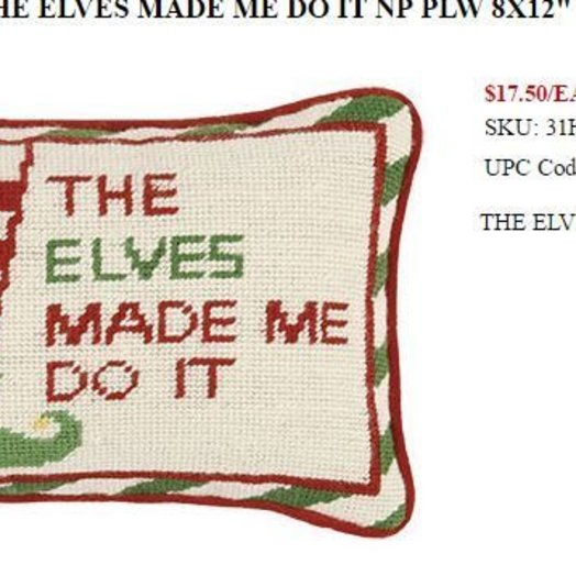 Peking Handicraft The Elves Made me Do it  8 x 12 inches