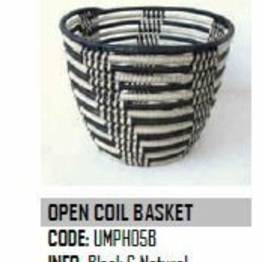 Design Afrika Open Coil Basket 11 x 9 inches UMPH05B