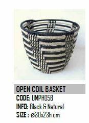Design Afrika Open Coil Basket 11 x 9 inches UMPH05B
