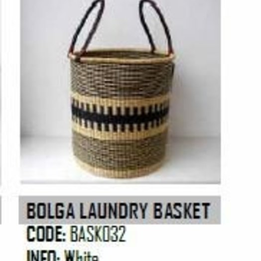 Design Afrika Bolga Laundry Basket Medium BASK034