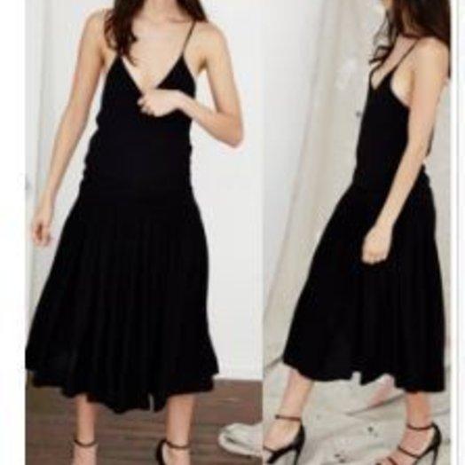 Sydny Chevron Midi Dress