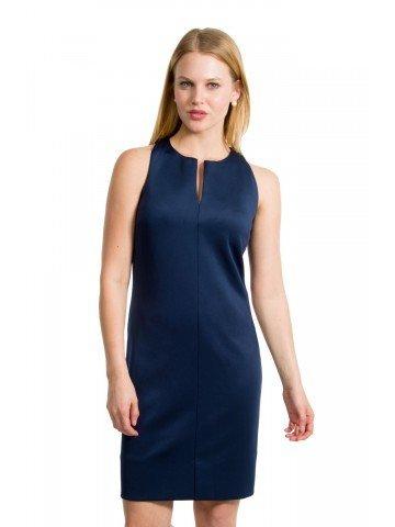 Gretchen Scott Plain Jane jersey Dress Navy