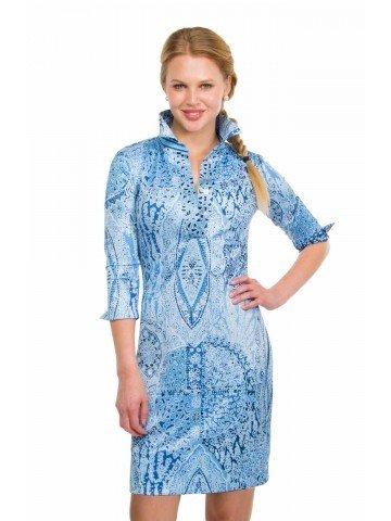 Gretchen Scott Everywhere Jersey Dress - Grand Bazaar Blues