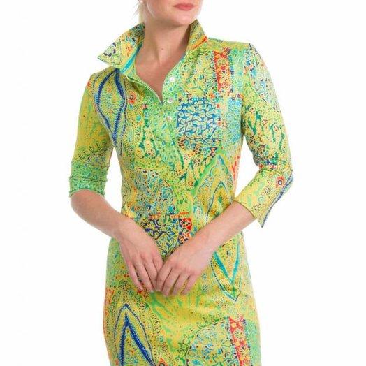 Gretchen Scott Everywhere Jersey Dress - Grand Bazaar Greens