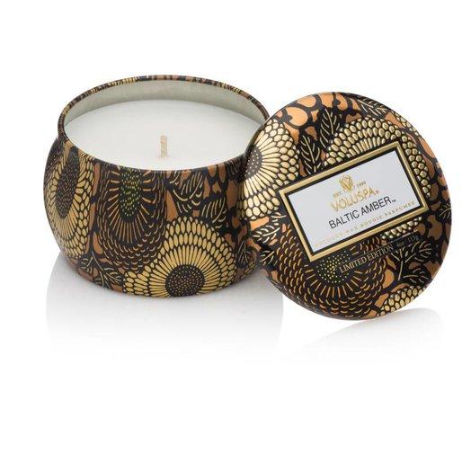 Voluspa Limited Edition Petite Decorative Candle Baltic Amber