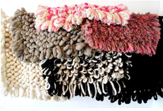 Mexchic Palomito Wool Rug Oreo Small