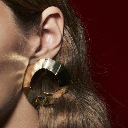 Waif Circular Stairwell Earrings