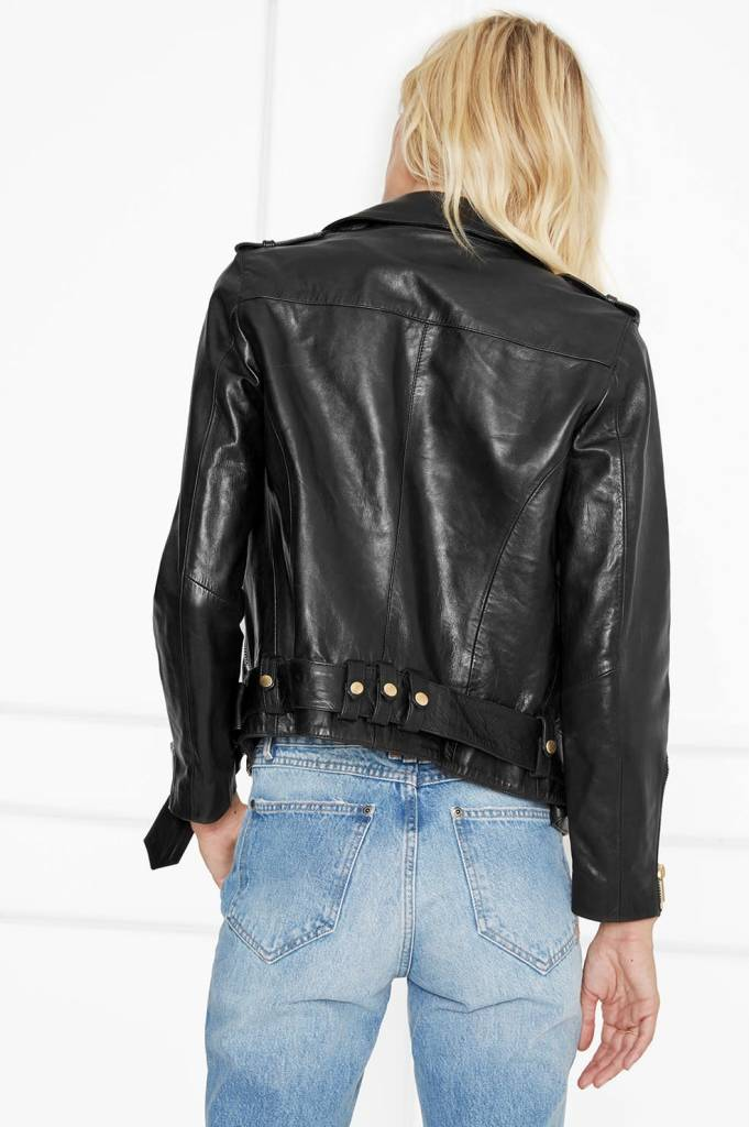 Anine Bing Vintage Leather Jacket