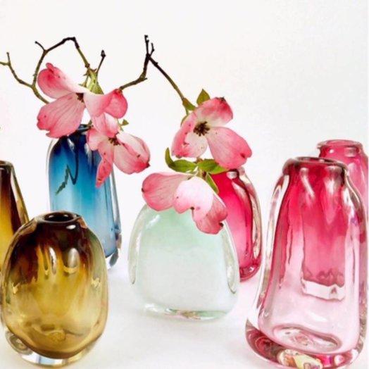 Balefire Glass Suspension Vase
