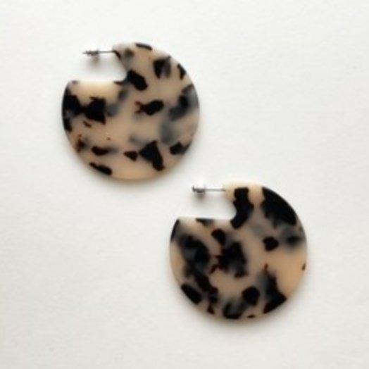 Machete Clare Earrings in Blonde Tortoiseshell