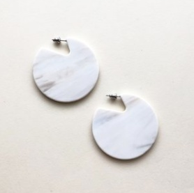 Machete Clare Earrings in Luna