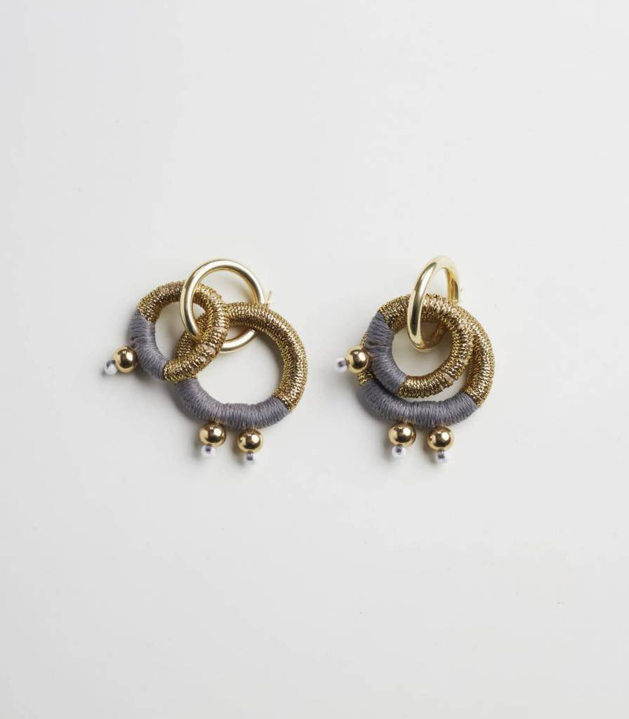Pichulik Gravity Gold Earrings