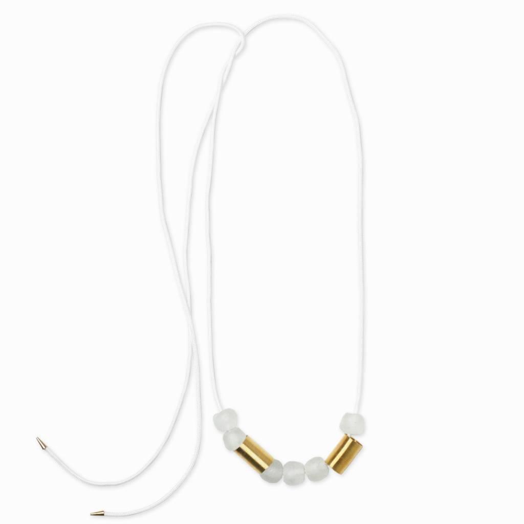 Pichulik Glass Mink Necklace