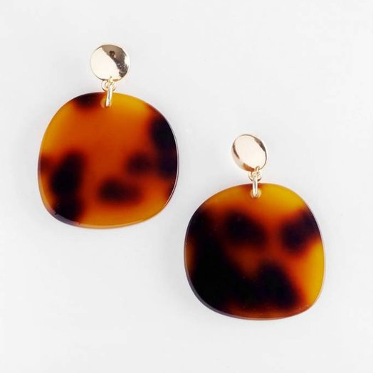 Valet Studio Jeanne Earrings Tortoiseshell