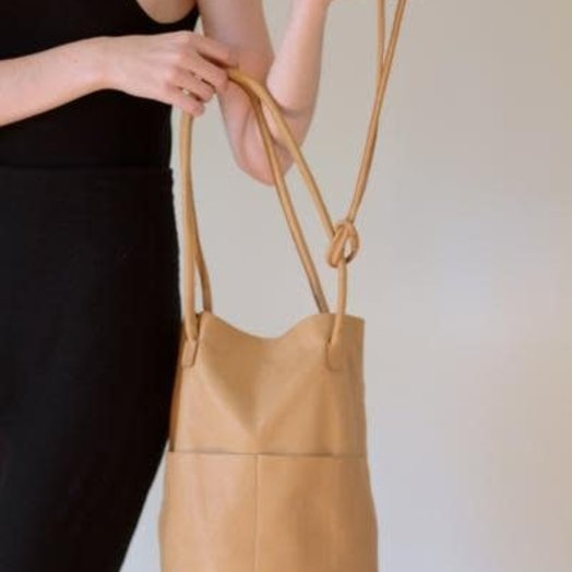 Are Studio Barrel Bag in Sand