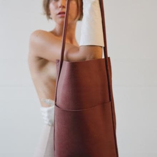Are Studio Barrel Bag in Wine