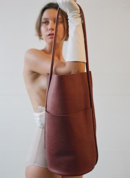 Are Studio Barrel Bag in Wine