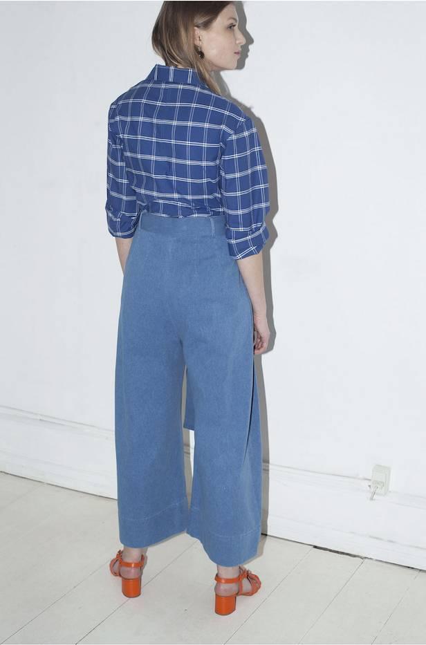 Mr Larkin Babette Pants Washed Denim