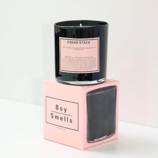 Boy Smells Cedar Stack Boy Smells Candle