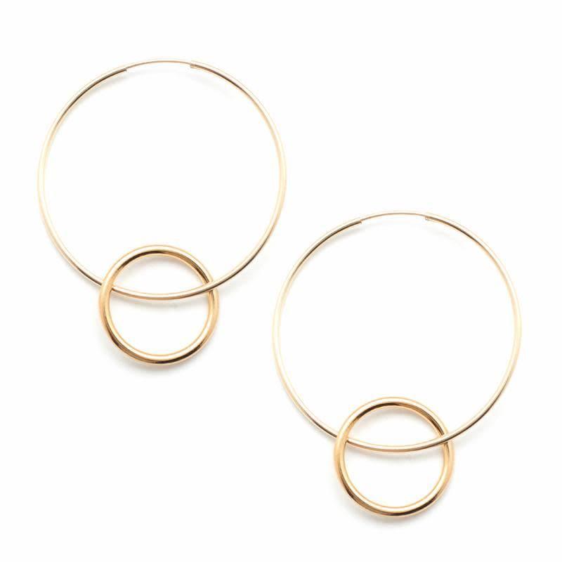 Hitch Hoop Earrings