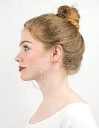 Big A** Gold Hoop Earrings