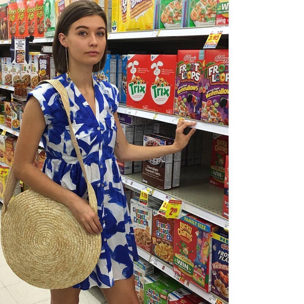 Heinui Neva Short Dress in Koi Print