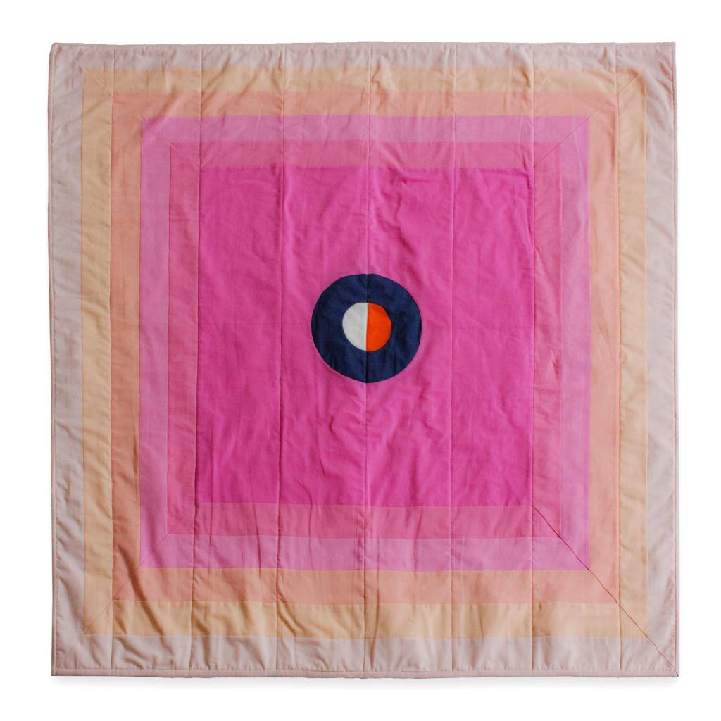 Ray Quilts Heart & Mind Sun Wall Hanging