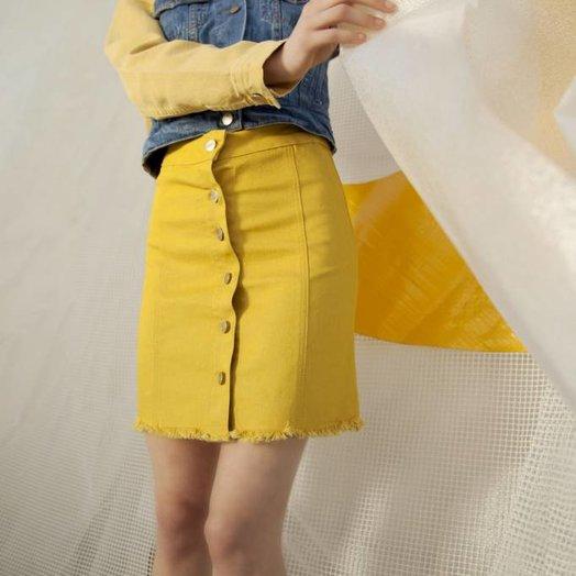 Tach Rothko Skirt Yellow