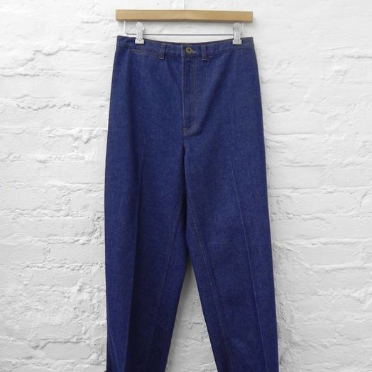 A Détacher Joey Jeans, Vintage Indigo Denim, 1940's High Waisted Denim