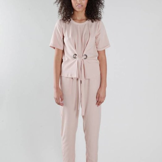 Native Youth Tencel Luxe Jogger, Pink