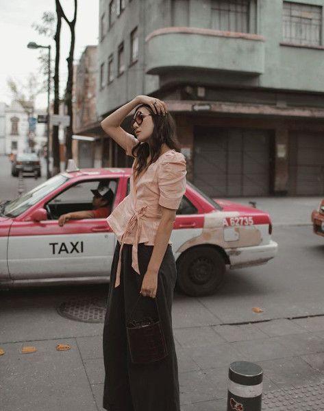 Kristinit Paola Pink Linen Jacket