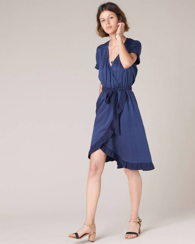 Sessun Lovers Point Dress, Indigo