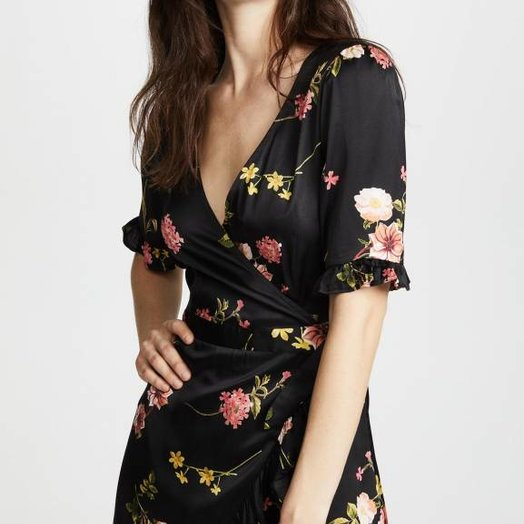 capulet Nadine Mini Wrap Dress