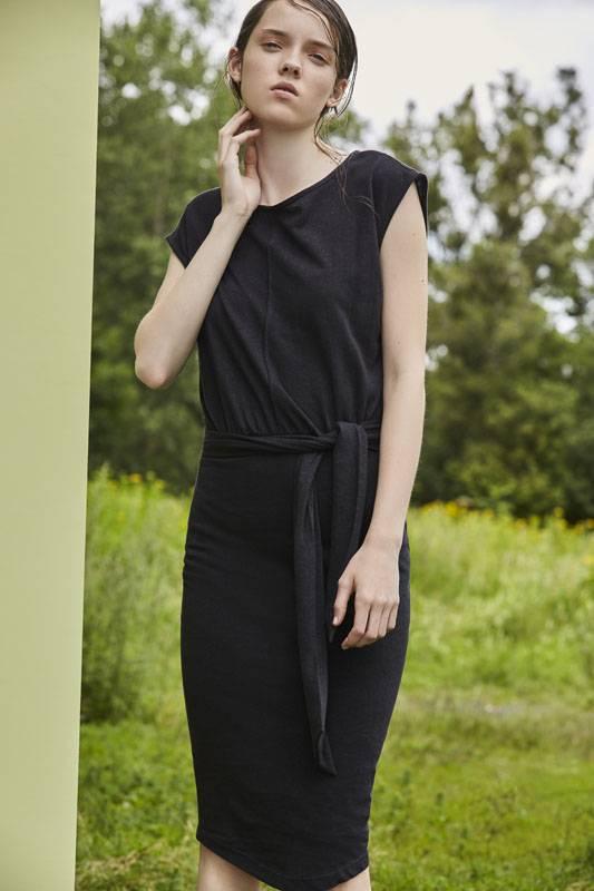 Eve Gravel Toi et Moi Dress, Black