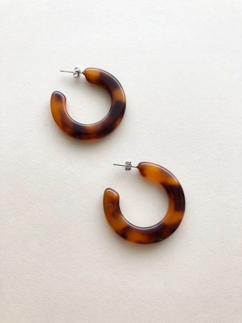 Machete Kate Hoops in Amber Tortoise