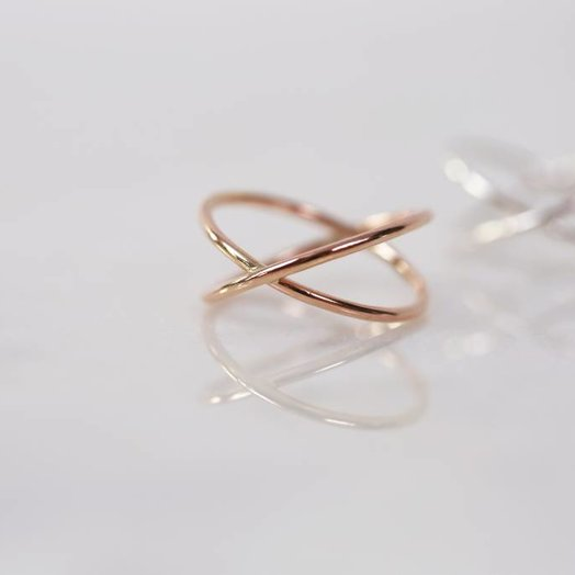 Chertova Celestial Ring, 14K gold, Made to Order
