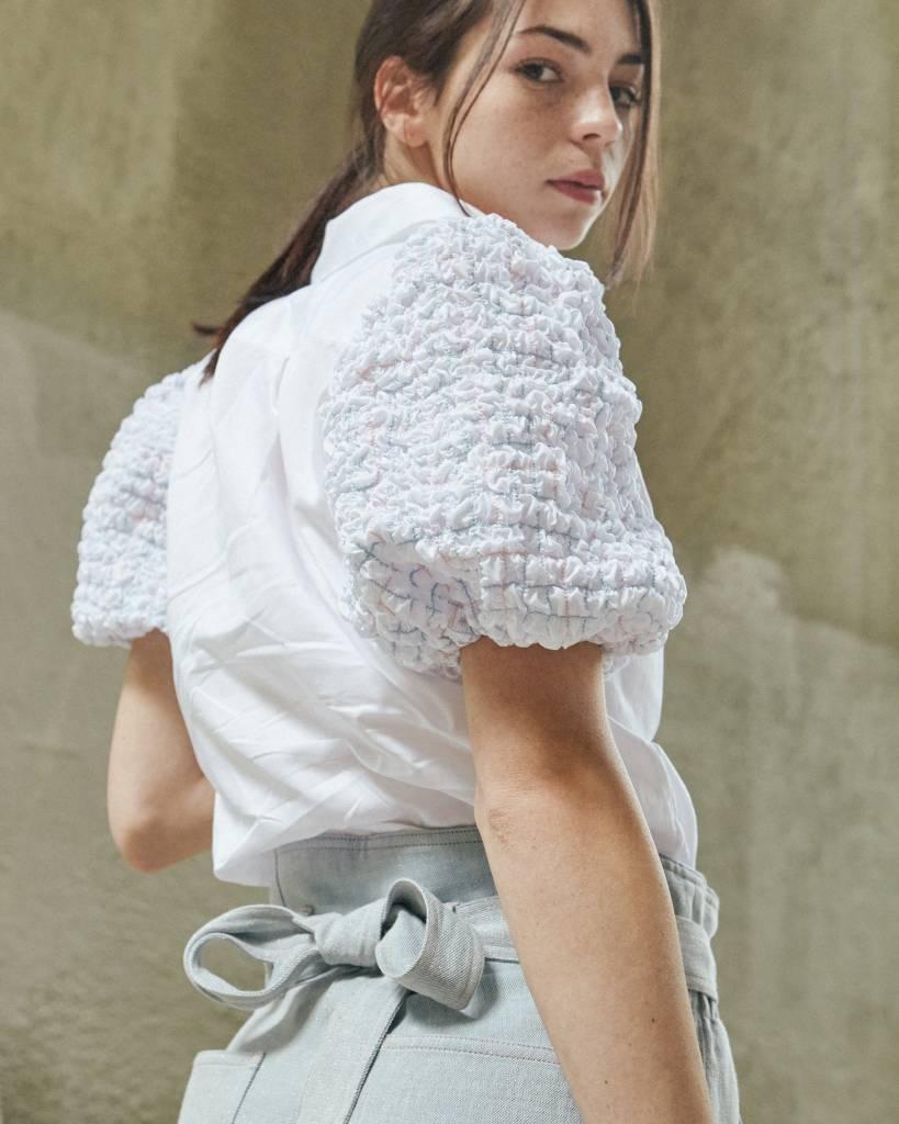 Petersyn Zadie White Shirt