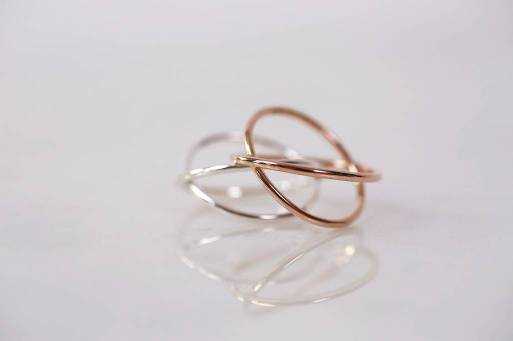 Chertova Celestial Ring, Sterling Silver