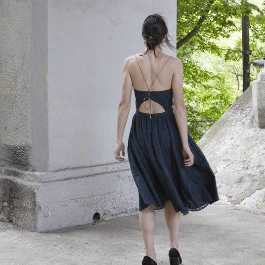sessun Tropic Night Dress Sycamore
