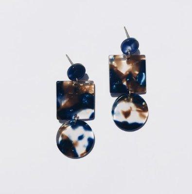 Sundara Mar Totem Earrings in Pacific