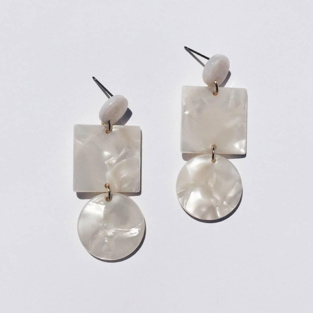 Sundara Mar Totem Ivory Earrings