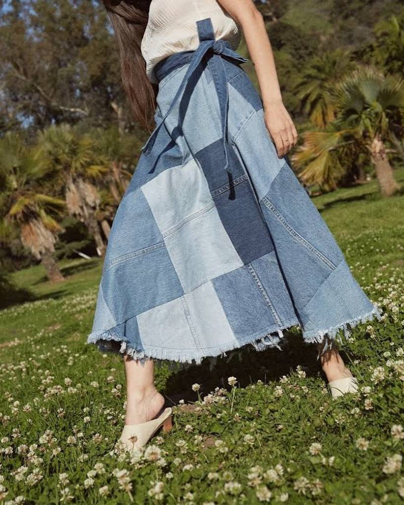 Studio LA Gabby Patchwork Skirt