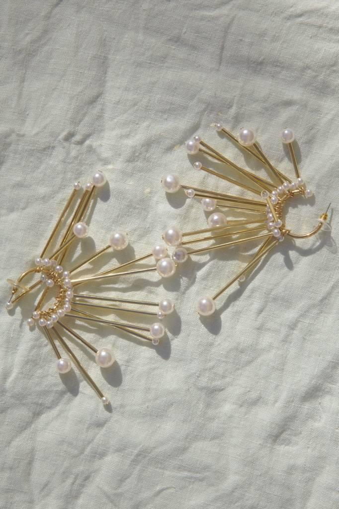 Reliquia Star Pearl Earring