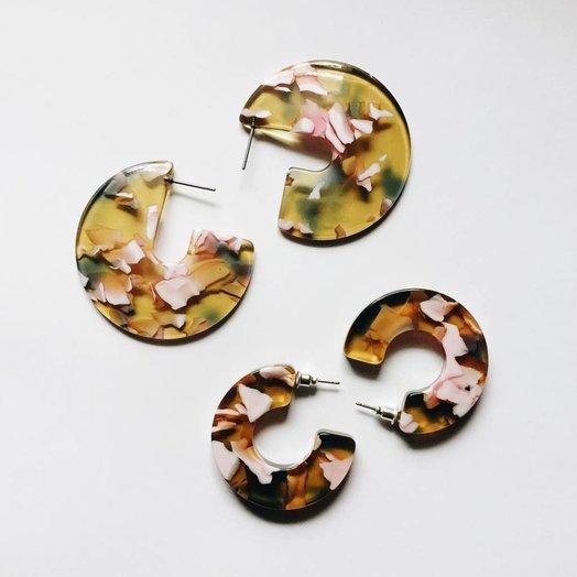 Sundara Mar Cleo Daisy Earrings