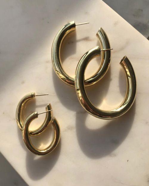Laura Lombardi Mini Curve Earrings
