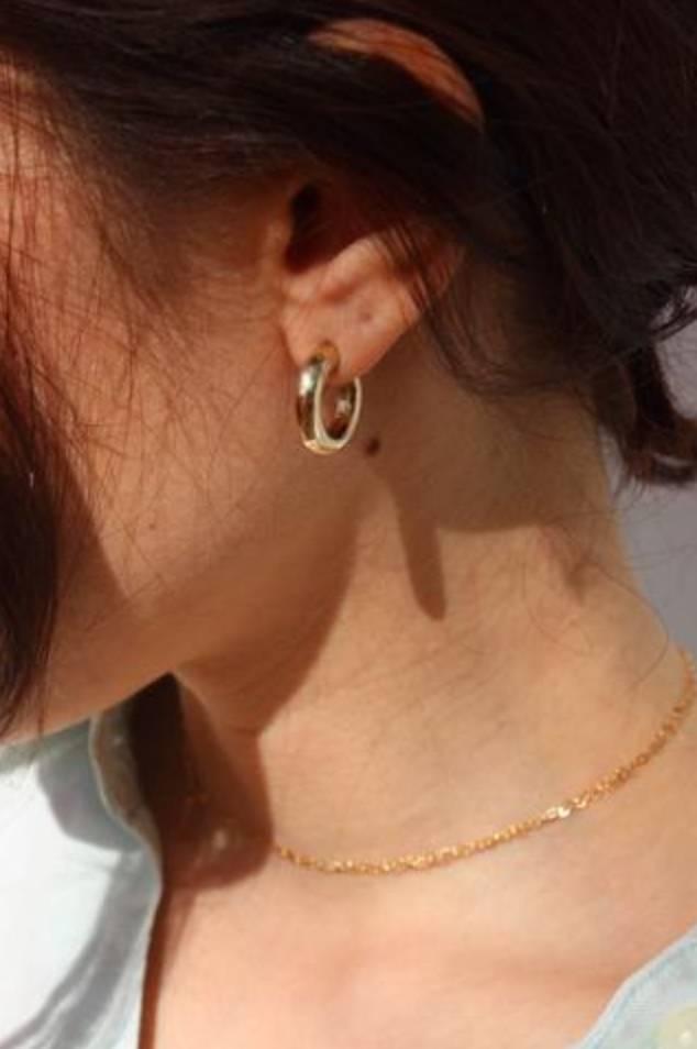 Laura Lombardi Mini Hoop Earrings