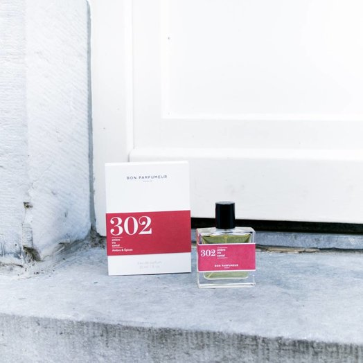 Bon Parfumeur 302 Amber, Iris, Sandalwood Eau de Parfum